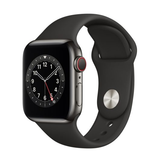 Apple Watch sport szíj 42 / 44mm Fekete