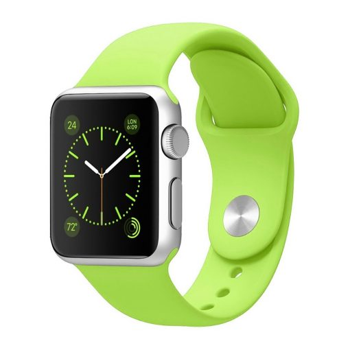Apple Watch sport szíj ZÖLD 38 / 40mm