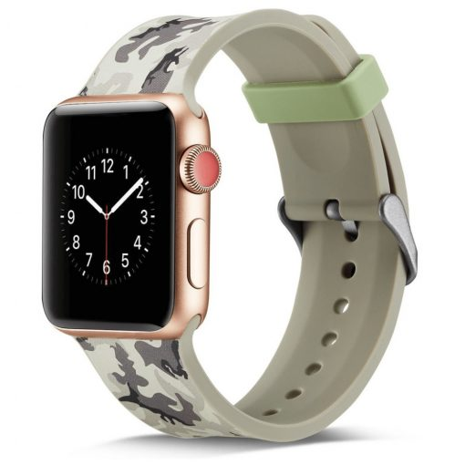 Sport szilikon szíj TEREPMINTÁS Apple Watch 42 / 44 mm