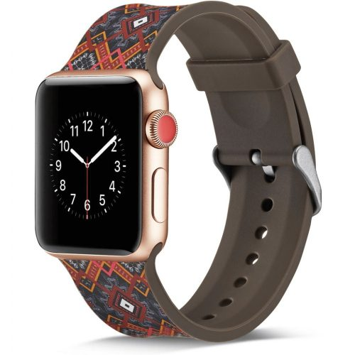 Sport szilikon szíj MINTÁS Apple Watch 38 / 40 mm