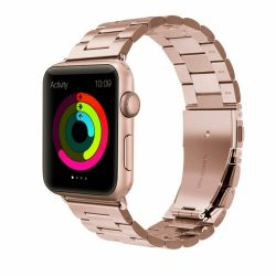 Rozsdamentes Acél Óraszíj ROSEGOLD Apple Watch 38 / 40 mm