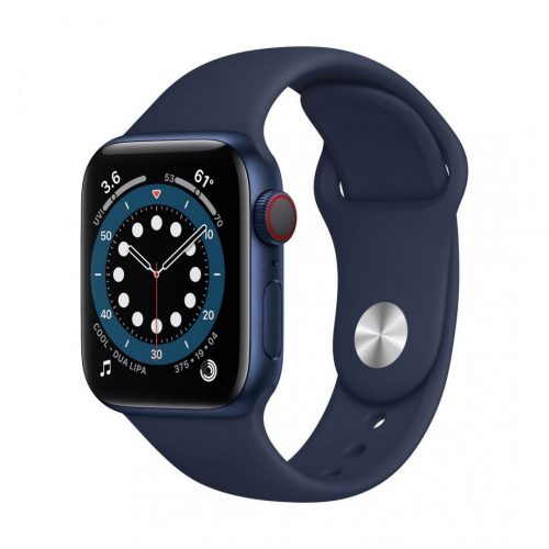 Devia Szilikon szíj SÖTÉTKÉK Apple Watch 42 / 44 mm