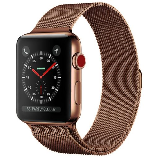Milánói Szíj BRONZ Apple Watch 42 / 44 mm